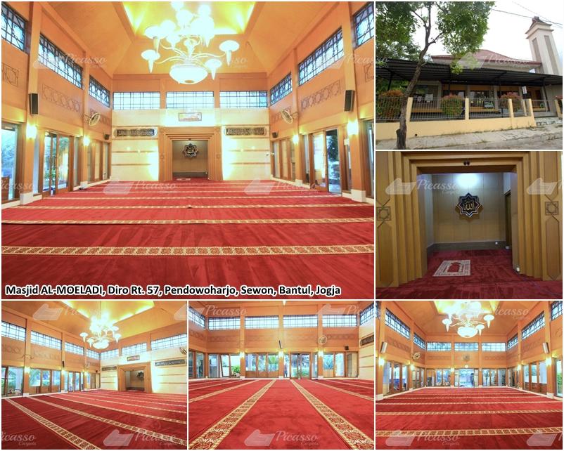 Karpet Masjid Al Moeladi, Bantul, Jogja