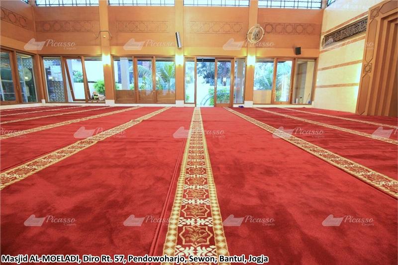 Karpet Masjid Merah, Bantul, Jogja