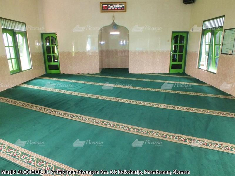 Karpet Masjid Al-Qomar, Bokoharjo, Prambanan, Sleman