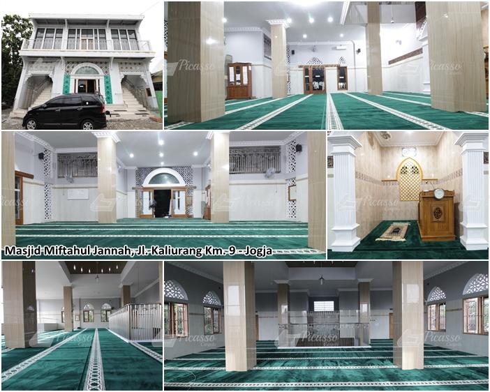 Karpet Masjid Miftahul Janah, Kaliurang, Jogja
