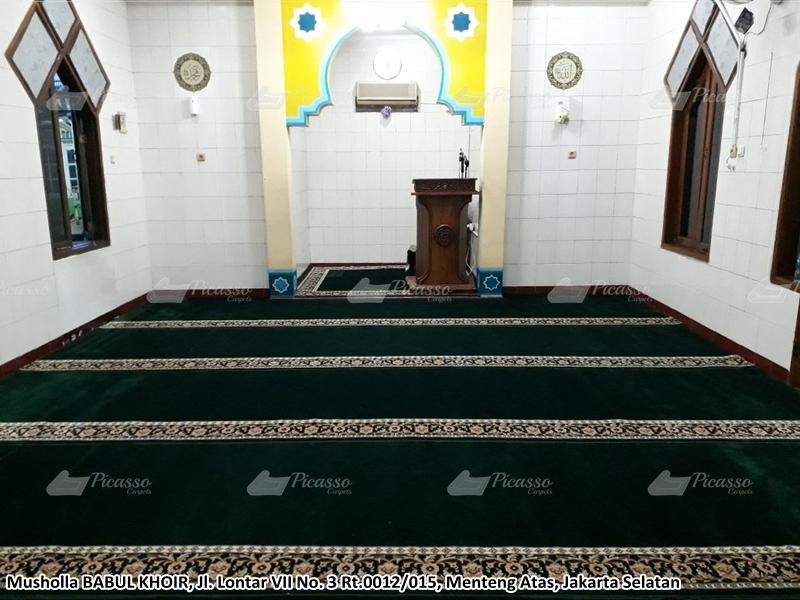 Karpet Masjid Hijau, Menteng Atas, Jaksel