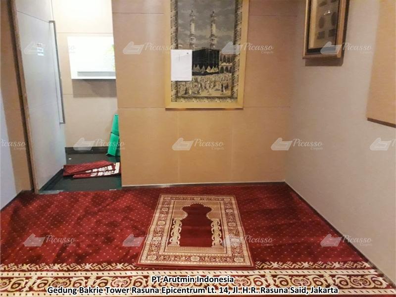 karpet masjid merah, jaksel
