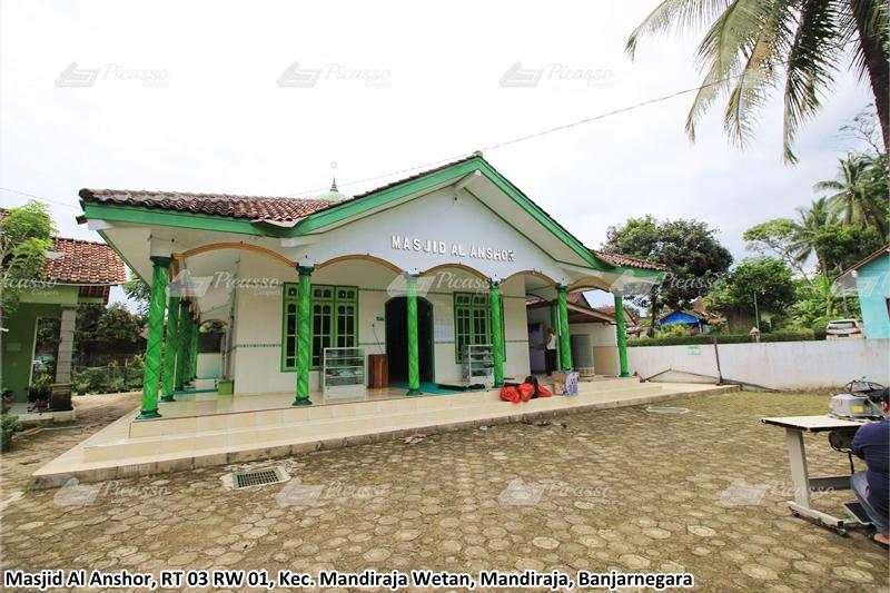 karpet masjid hijau, banjarnegara