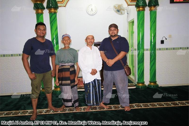 Karpet Masjid Al Anshor, Banjarnegara