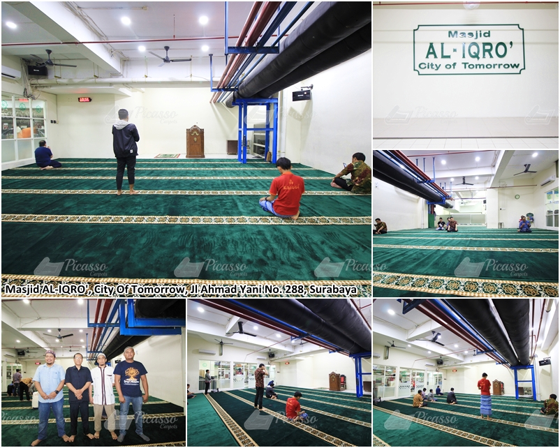 Karpet Masjid Al-Iqro, City of Tomorrow Mall, Surabaya