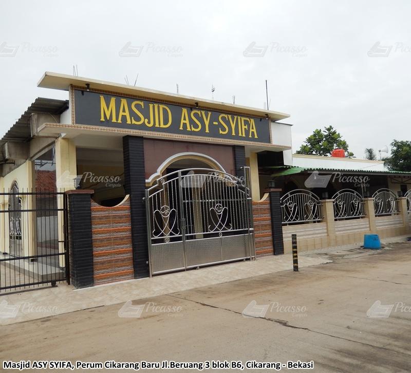 Karpet Masjid Asy-Syifa, Cikarang, Bekasi