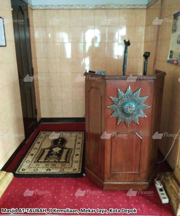 karpet masjid merah, depok