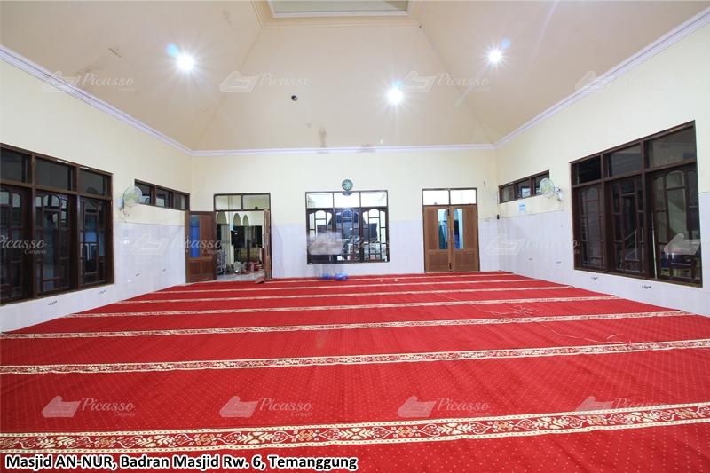 karpet masjid merah, temanggung