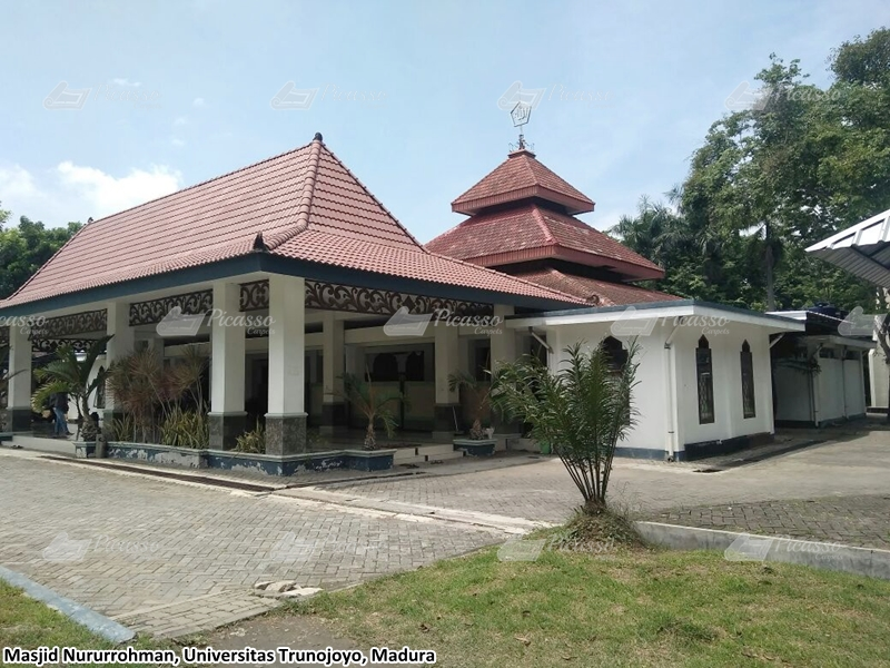 Karpet Masjid Nurrurohman, Universitas Trunojoyo, Madura