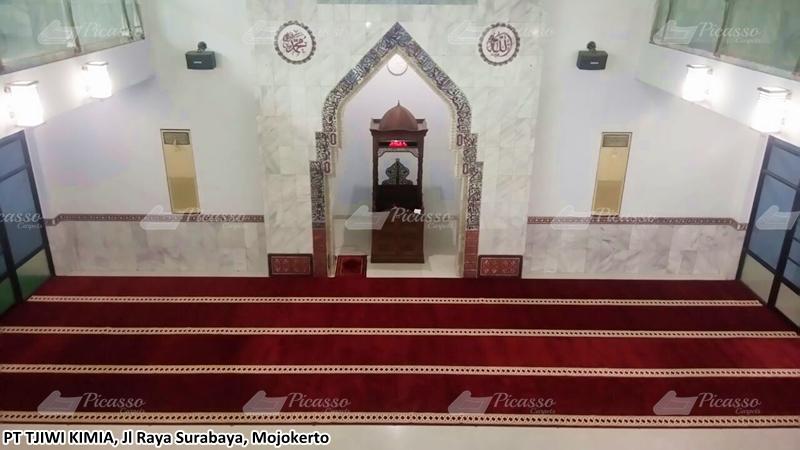 Karpet Masjid PT. Tjiwi Kimia, Mojokerto