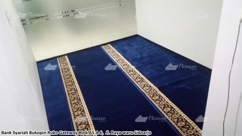 karpet masjid biru, sidoarjo
