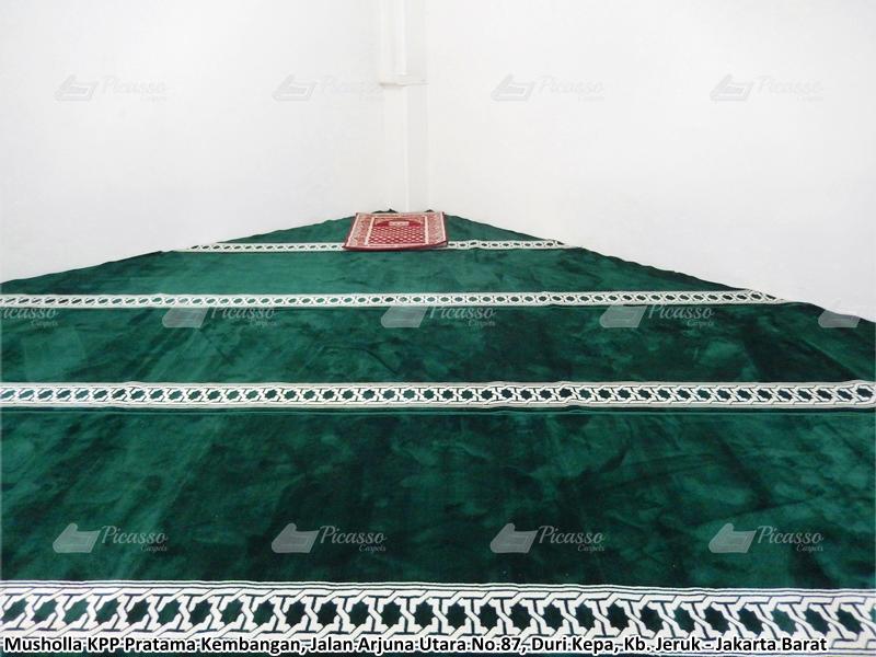karpet masjid hijau, kebun jeruk, jakbar
