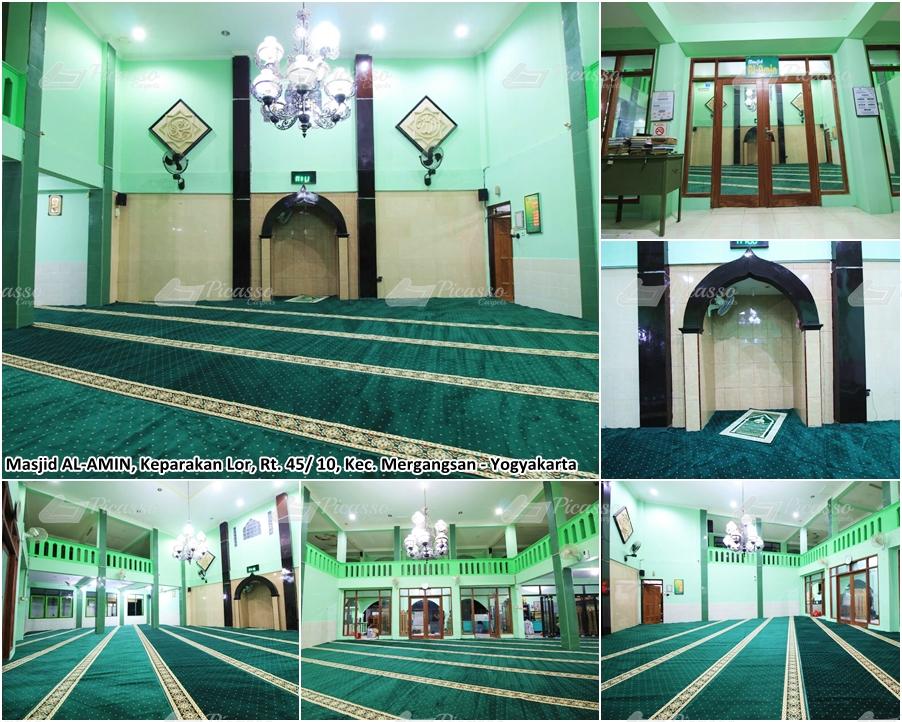 Karpet Masjid Al Amin, Mergangsan, Jogja