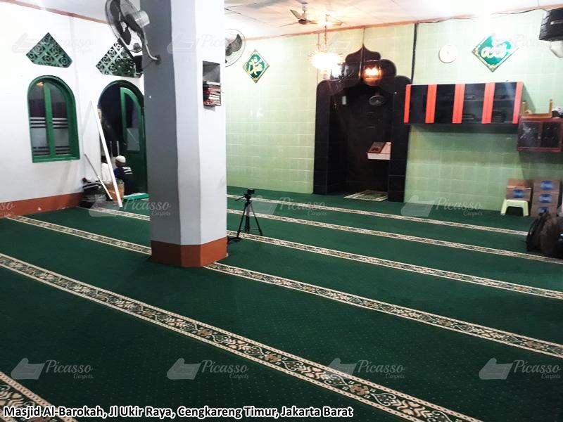 Karpet Masjid Al-Barokah Jl. Ukir Raya, Cengkareng Timur Jakarta Barat