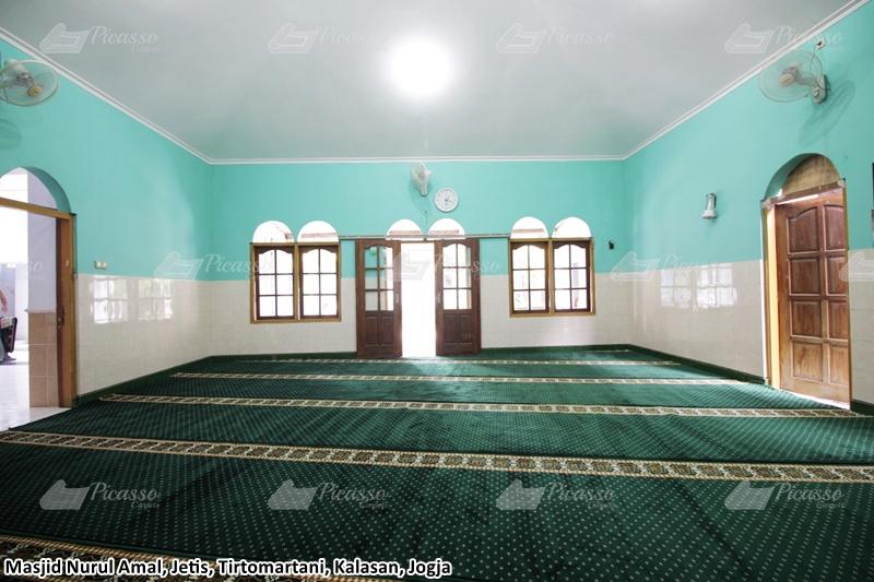 Karpet Masjid Nurul Amal, Kalasan, Jogja