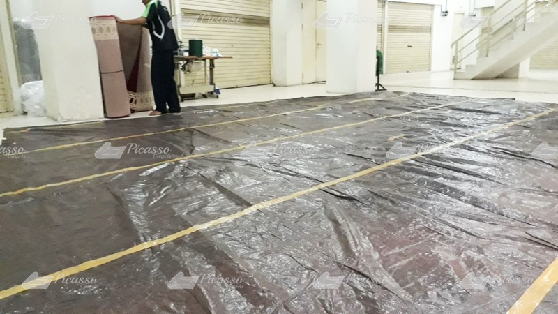 karpet masjid merah, kupang ntt