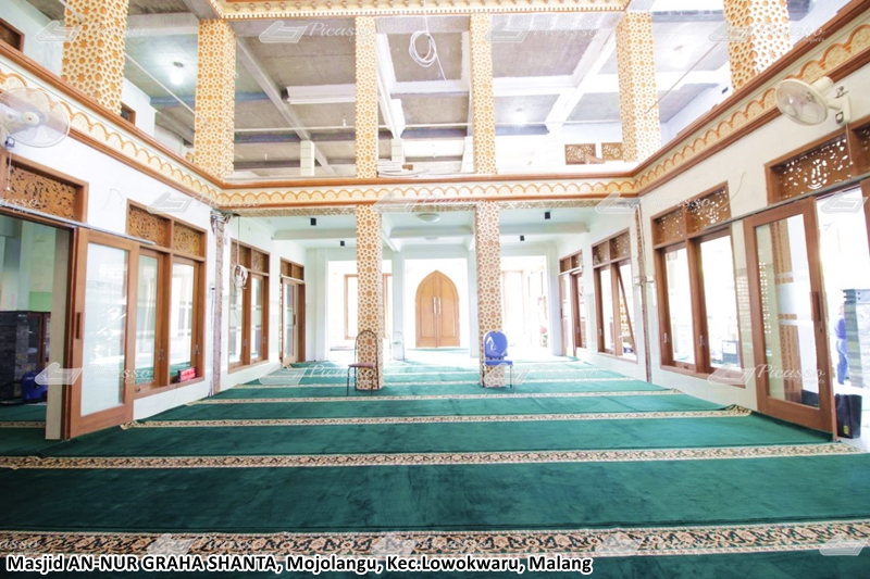 Karpet Masjid An-Nur, Lowokwaru, Malang