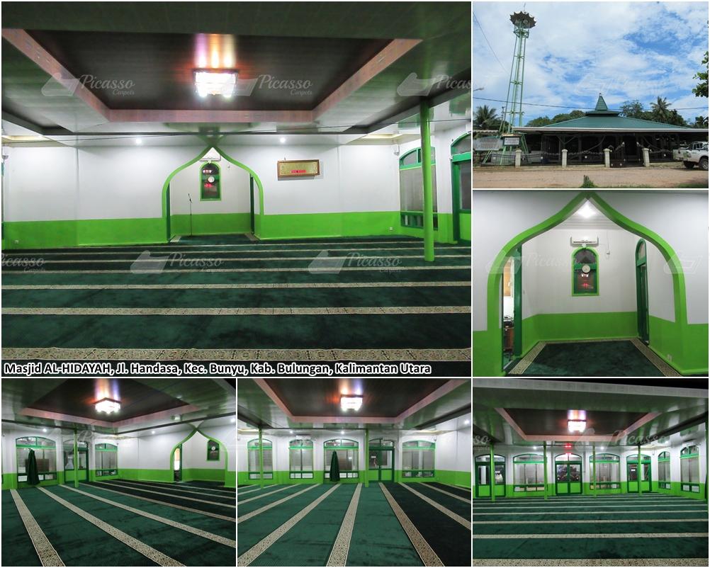 Karpet Masjid Al-Hidayah, Bunyu, Bulungan, Kalimantan Utara