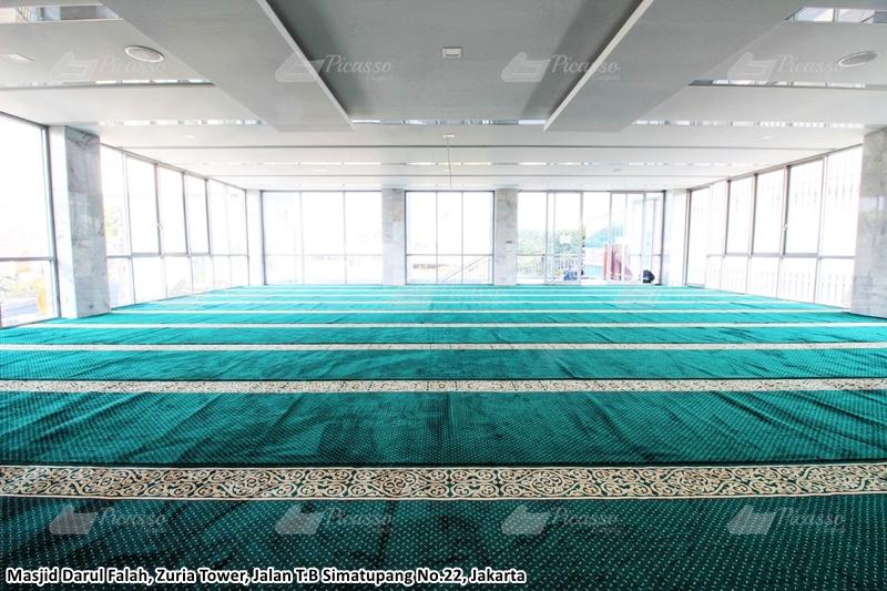 Karpet Masjid Darul Falah, Zuria Tower, Jakarta