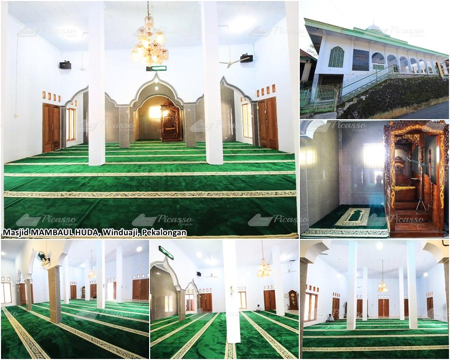 Karpet Masjid Mambaulhuda, Winduaji, Paninggaran, Pekalongan