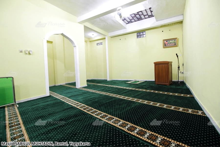 Karpet Masjid Sabilul Muhtadin, Bantul, Jogja