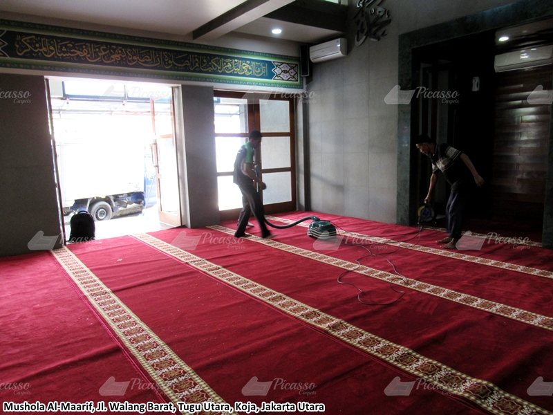 Karpet Masjid Merah Jakarta Utara