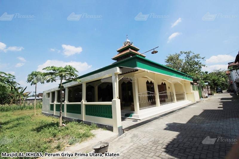 Karpet Masjid Al-Ikhlas Perum Griya Utara, Belang Wetan, Klaten