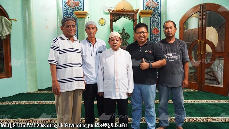 Karpet Masjid Jami Al-Karomah, Jl. Rawamangun No.32, Jakarta