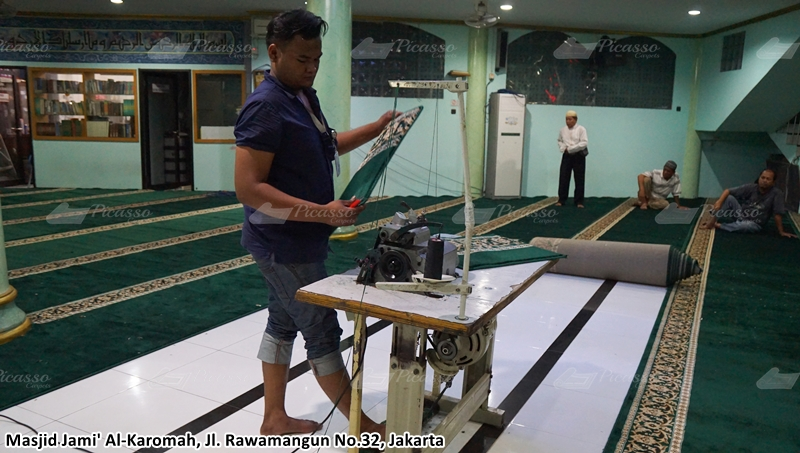 karpet masjid rawamangun
