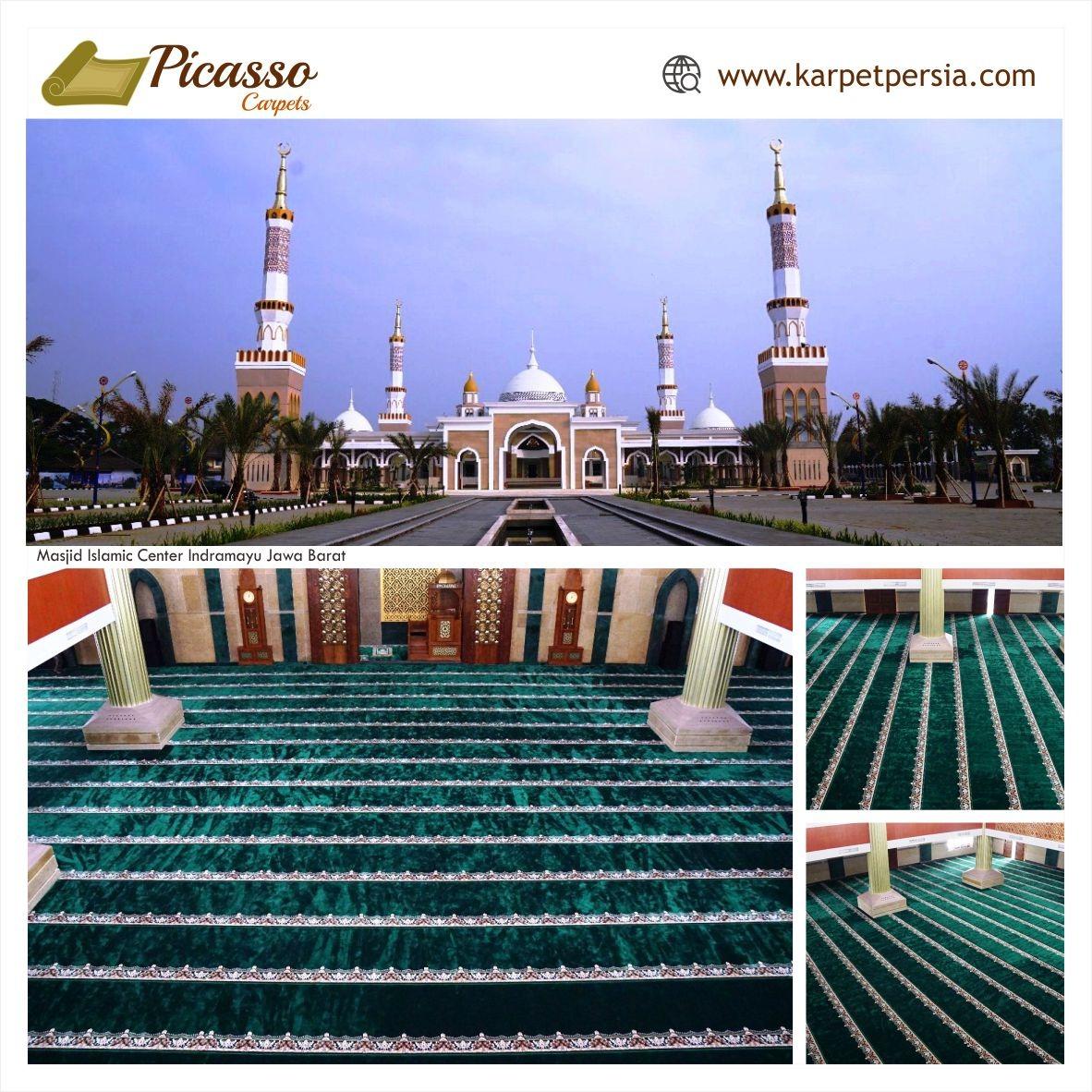 Karpet Masjid Islamic Center, Indramayu
