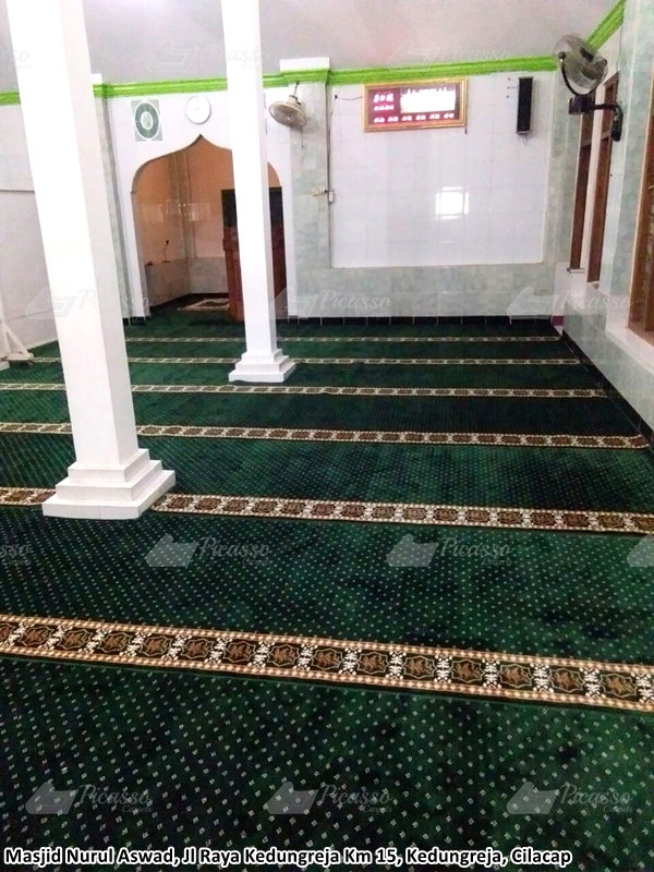 Karpet Masjid Nurul Aswad, Cilacap
