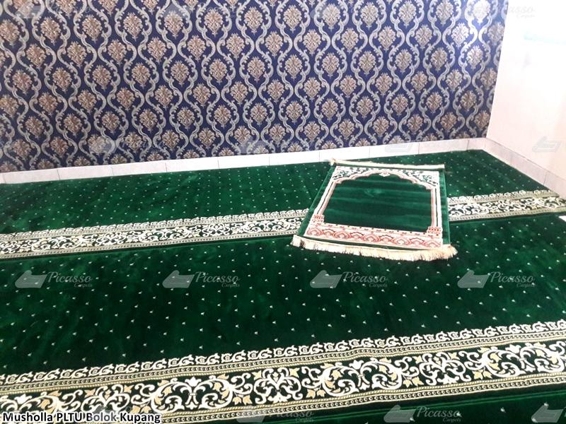 karpet masjid hijau, kupang