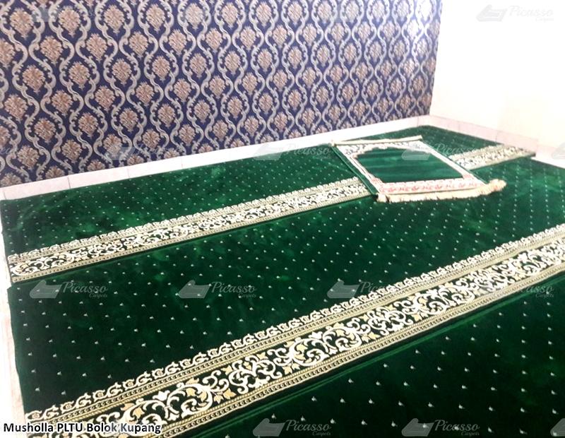 Karpet Masjid di Musholla PLTU Bolok, Kupang – NTT