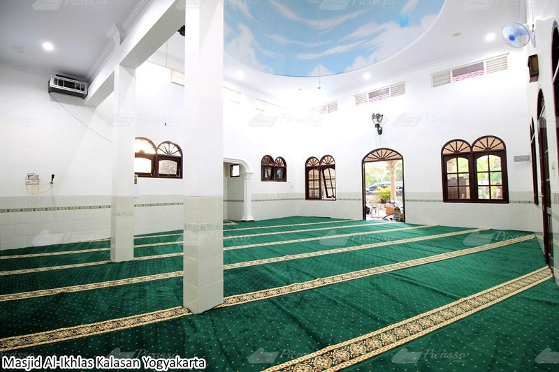 Karpet Masjid Al-Ikhlas, Kalasan, Jogja