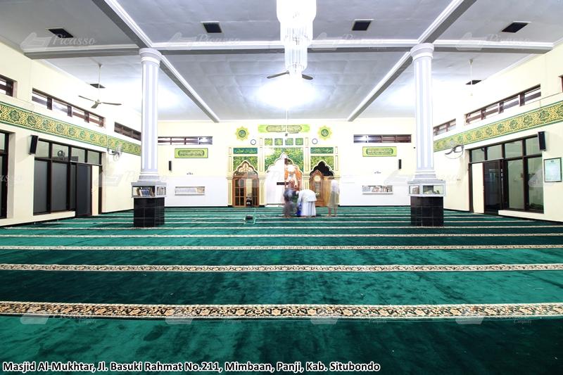 Karpet Masjid Al-Mukhtar, Panji, Situbondo