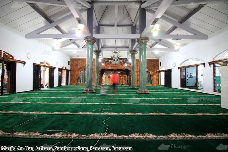 Karpet Masjid An Nur Jatiroso, Sumbergedang, Pandaan, Pasuruan