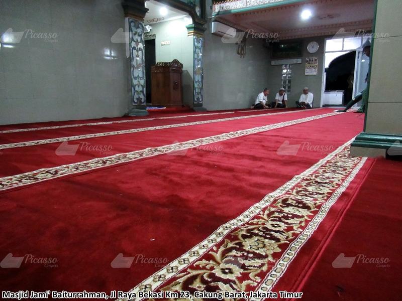 karpet masjid merah jakarta timur