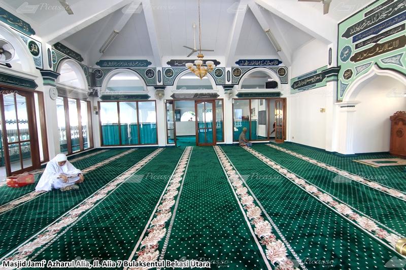 karpet masjid hijau bekasi utara