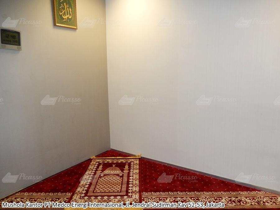 karpet masjid merah, medco energi internasional, jaksel