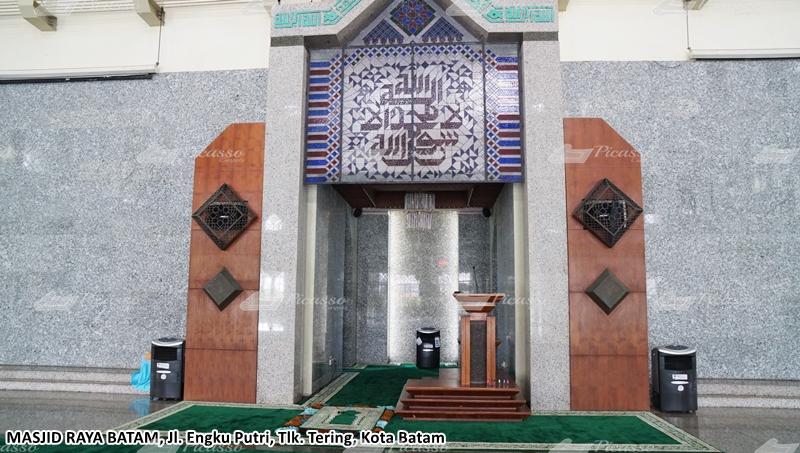 karpet masjid agung batam