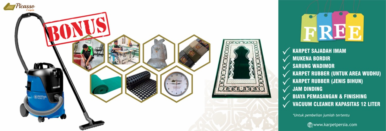 Karpet Masjid Bonus