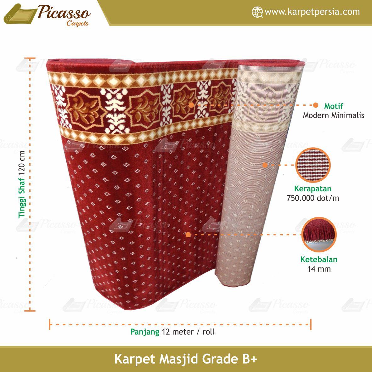 karpet masjid merah bintik