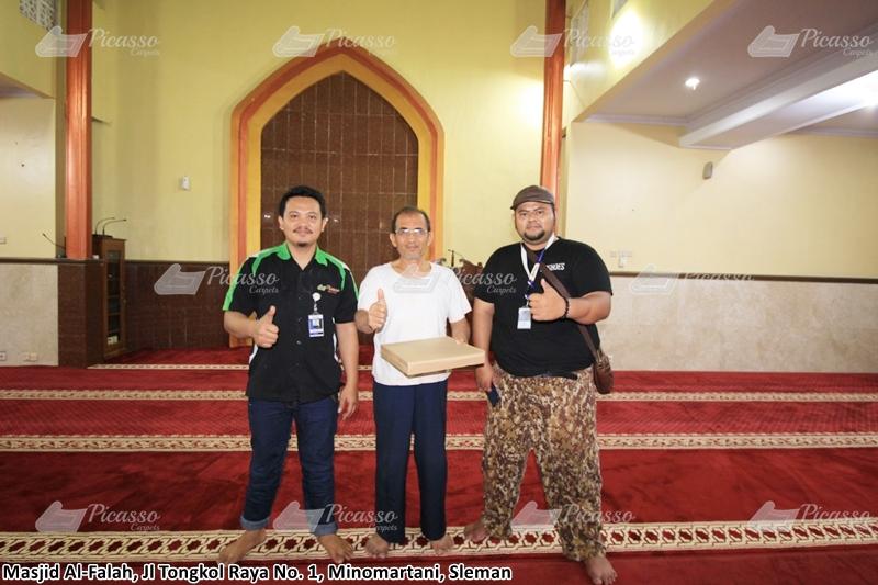 Karpet Masjid Al-Falah Minomartani, Sleman, Jogja