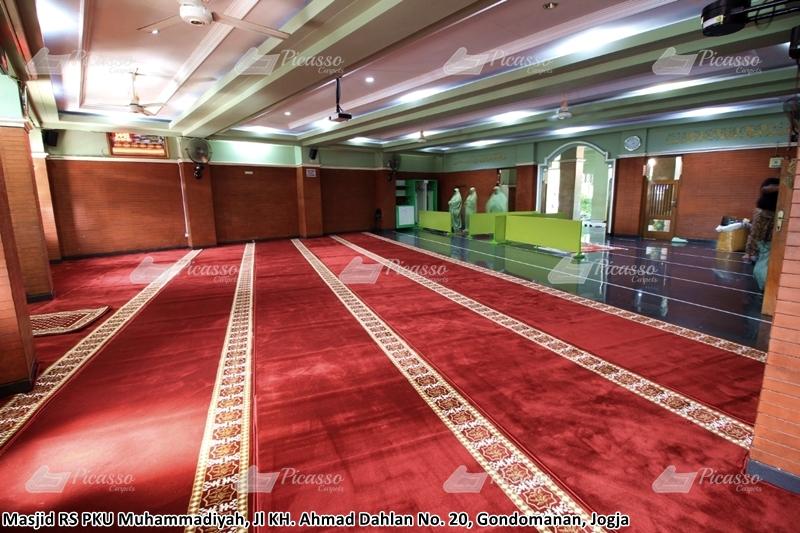 Karpet Masjid As-Syifa, RS PKU Muhammadiyah, Jogja