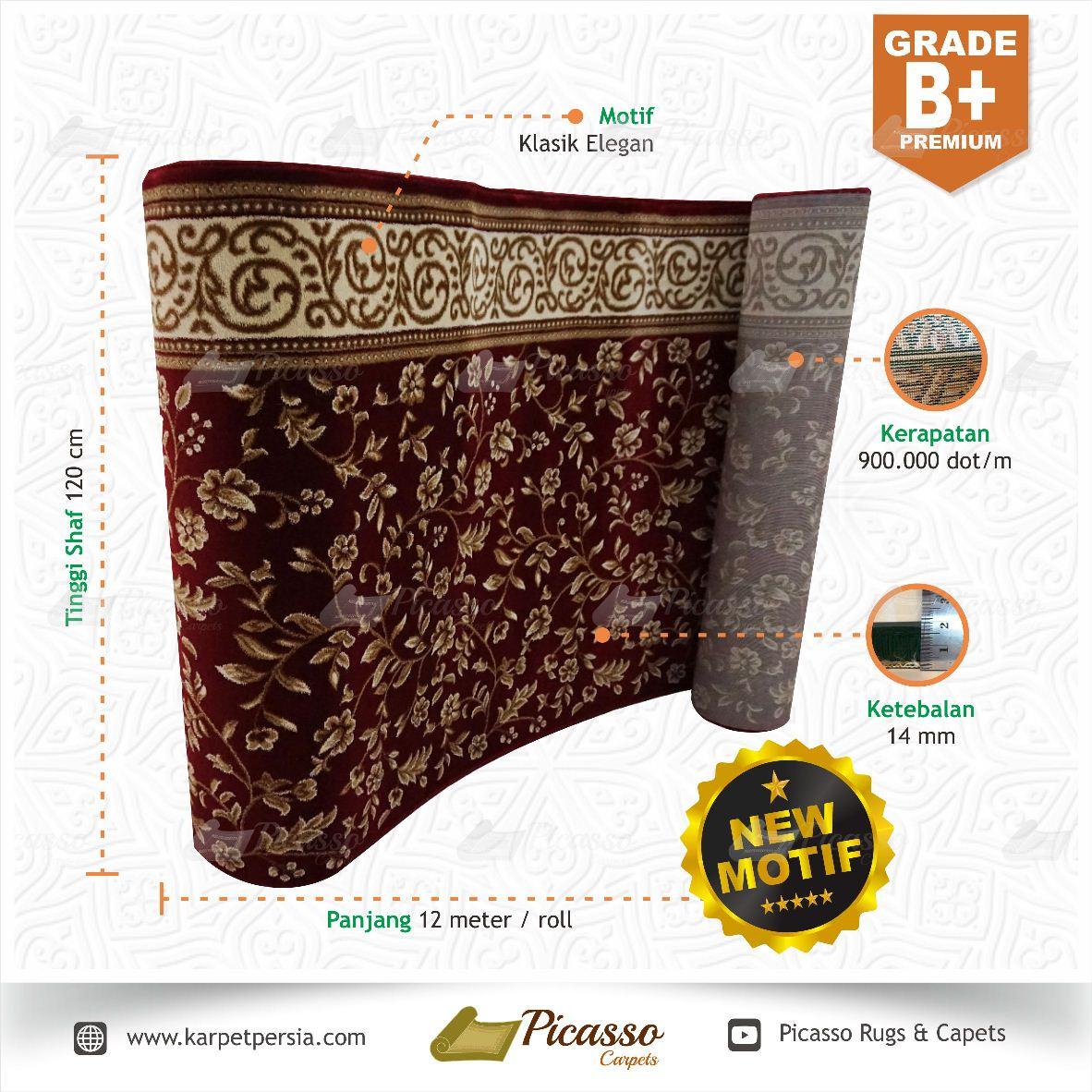 Karpet Masjid - Grade B+ Premium