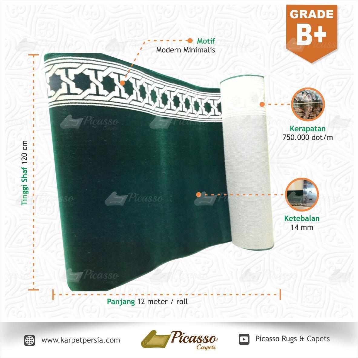 Karpet Masjid - Grade B+