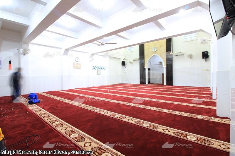 karpet masjid merah, surakarta