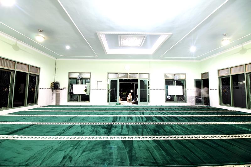 Karpet Masjid Nurul Iman, Temanggung, Jawa Tengah