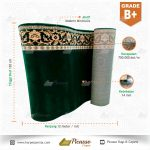 karpet masjid hijau grade b+11