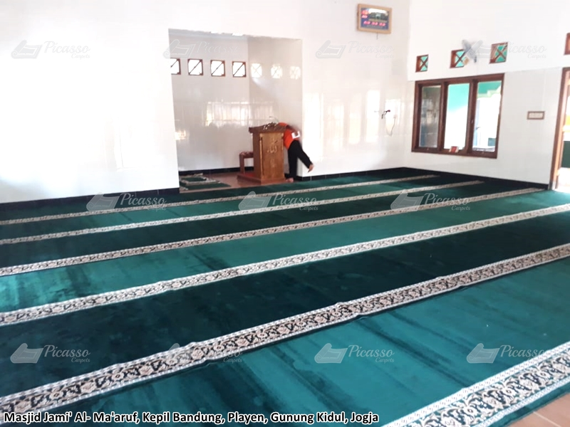 Karpet Masjid Jami Al-Ma'aruf, Gunung Kidul, Jogja